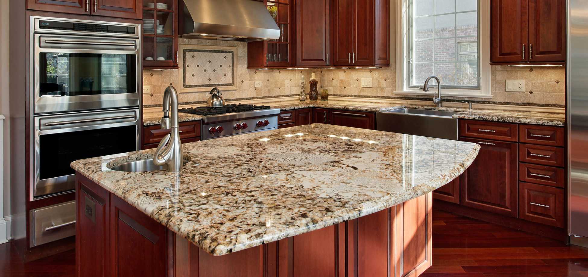 Tan Granite Countertops